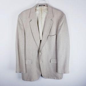 Vintage spring sport coat blazer light weight 42L